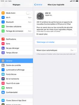 Apple iPad Air 2 - iOS 12 - Appareil - Mises à jour - Étape 7