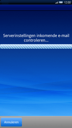 Sony Ericsson Xperia X10 - E-mail - Handmatig instellen - Stap 9