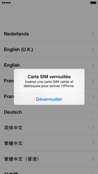 Apple iPhone 6 iOS 8 - Premiers pas - Créer un compte - Étape 3