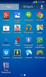 Samsung Galaxy Core Plus - Internet - Hoe te internetten - Stap 2