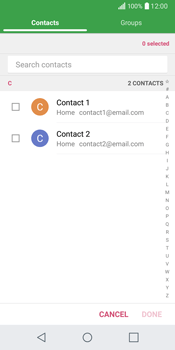 LG Q6 - Email - Sending an email message - Step 7