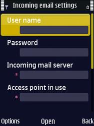 Nokia N86 - E-mail - Manual configuration - Step 22