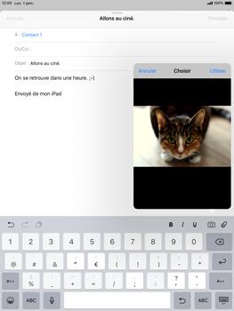 Apple iPad 9.7 (2018) iOS12 - E-mail - envoyer un e-mail - Étape 10