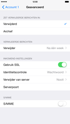Apple iPhone 6 Plus iOS 8 - E-mail - handmatig instellen - Stap 23