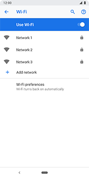 Google Pixel 3 - Wi-Fi - Connect to a Wi-Fi network - Step 7