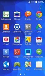 Samsung Galaxy Core II - Internet no telemóvel - Como ativar os dados móveis -  3