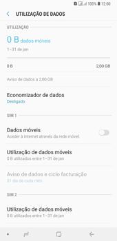 Samsung Galaxy A6 Plus DualSim - Internet no telemóvel - Como ativar os dados móveis -  6