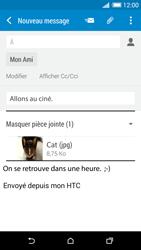 HTC Desire 820 - E-mails - Envoyer un e-mail - Étape 16
