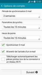 Samsung A300FU Galaxy A3 - E-mail - Configuration manuelle - Étape 16