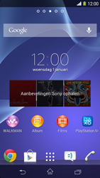 Sony D2303 Xperia M2 - Applicaties - Account aanmaken - Stap 1