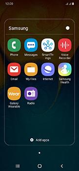 Samsung Galaxy A20e - E-mail - Manual configuration - Step 5