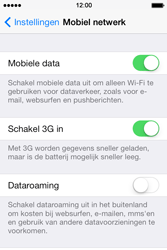 Apple iPhone 4 iOS 7 - Internet - Uitzetten - Stap 5