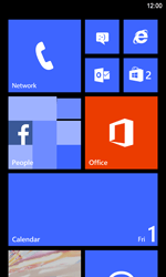 Nokia Lumia 920 LTE - SMS - Manual configuration - Step 1