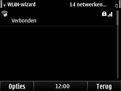Nokia E6-00 - Wifi - handmatig instellen - Stap 16