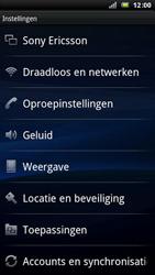 Sony Ericsson Xperia Arc - Buitenland - Bellen, sms en internet - Stap 4