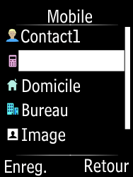 Doro Phone Easy 631 - Contact, Appels, SMS/MMS - Ajouter un contact - Étape 7