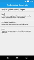 Sony E2303 Xperia M4 Aqua - E-mail - Configurer l