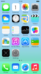 Apple iPhone 5c - MMS - Sending a picture message - Step 1