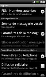 HTC A8181 Desire - Messagerie vocale - configuration manuelle - Étape 6