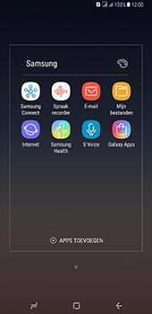 Samsung Galaxy A8 Plus - E-mail - handmatig instellen - Stap 4