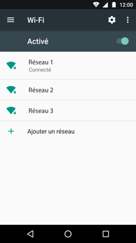 Motorola Moto Z Play - Wi-Fi - Se connecter à un réseau Wi-Fi - Étape 8