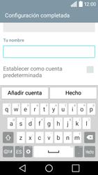 LG Leon - E-mail - Configurar Yahoo! - Paso 9