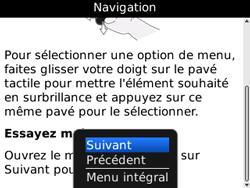BlackBerry curve 3G - Premiers pas - Créer un compte - Étape 12