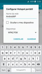 Samsung Galaxy S6 Edge - Internet no telemóvel - Como partilhar os dados móveis -  8