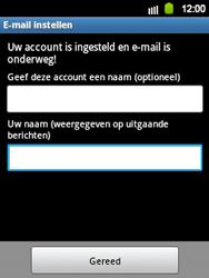 Samsung S5360 Galaxy Y - E-mail - Handmatig instellen - Stap 17