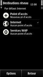 Nokia 500 - Internet - configuration manuelle - Étape 8