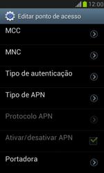 Samsung I8190 Galaxy S III Mini - Internet (APN) - Como configurar a internet do seu aparelho (APN Nextel) - Etapa 15