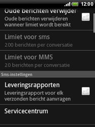 HTC A3333 Wildfire - SMS - handmatig instellen - Stap 6