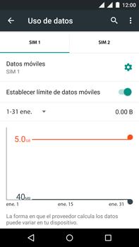 Motorola Moto X Play - Internet - Ver uso de datos - Paso 10