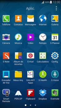 Samsung N910F Galaxy Note 4 - Rede móvel - Como ativar e desativar o modo avião no seu aparelho - Etapa 3