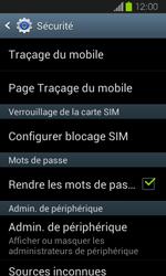 Samsung Galaxy Express - Sécuriser votre mobile - Personnaliser le code PIN de votre carte SIM - Étape 5