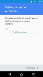 Sony Xperia M5 - Applicaties - Account aanmaken - Stap 7