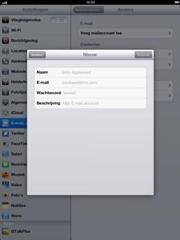 Apple iPad 4th generation - E-mail - e-mail instellen: POP3 - Stap 7