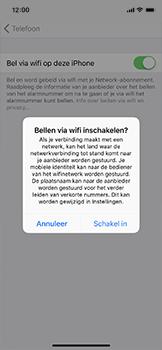 Apple iPhone X - Bellen - WiFi Bellen (VoWiFi) - Stap 6
