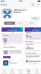 Apple iPhone 5s - iOS 8 - Applications - MyProximus - Step 7