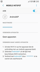 Samsung Galaxy A3 (2016) - Android Nougat - WiFi - Mobiele hotspot instellen - Stap 12