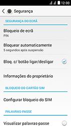 Huawei Ascend Y625 - Segurança - Como ativar o código de bloqueio do ecrã -  10