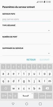 LG V30 - E-mail - Configuration manuelle - Étape 11