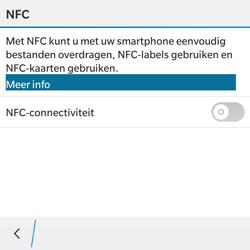 BlackBerry Classic - NFC - NFC activeren - Stap 6