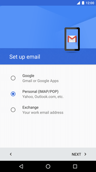 Huawei Google Nexus 6P - Email - Manual configuration - Step 8