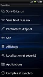 Sony Ericsson Xperia Neo - Internet - activer ou désactiver - Étape 4