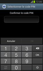 Samsung Galaxy S3 Mini - Sécuriser votre mobile - Activer le code de verrouillage - Étape 9