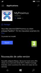Microsoft Lumia 650 - Applications - MyProximus - Étape 10