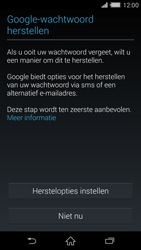 Sony D6503 Xperia Z2 - Applicaties - Account aanmaken - Stap 12