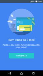 Sony Xperia XZ - Android Nougat - Email - Adicionar conta de email -  4
