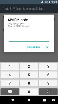 Sony Xperia XA1 Plus (G3421) - Beveiliging en ouderlijk toezicht - Hoe wijzig ik mijn SIM PIN-code - Stap 8
